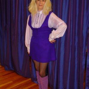 60's Purple Mod