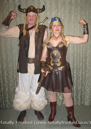viking couple